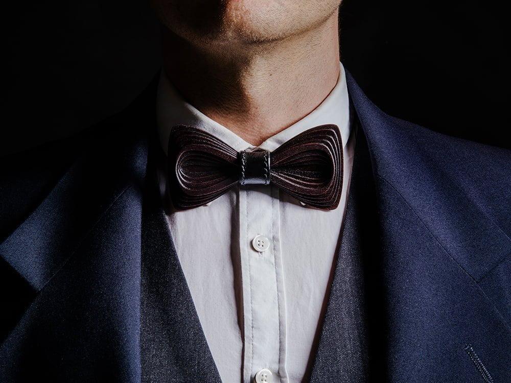 SÖÖR Antero Sysi - a wood bow tie
