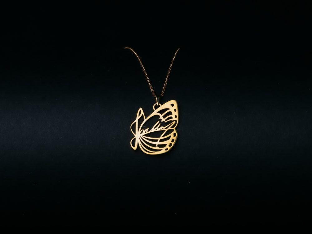 J01 Necklace Golden