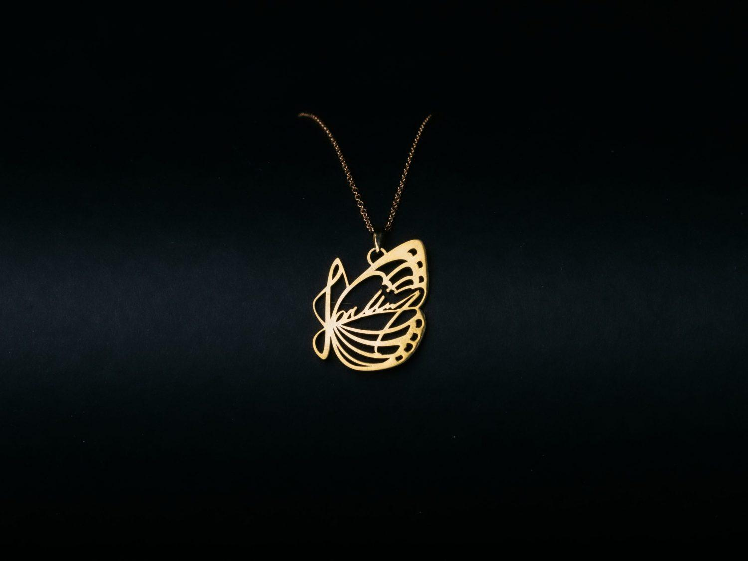 J01 Necklace Golden