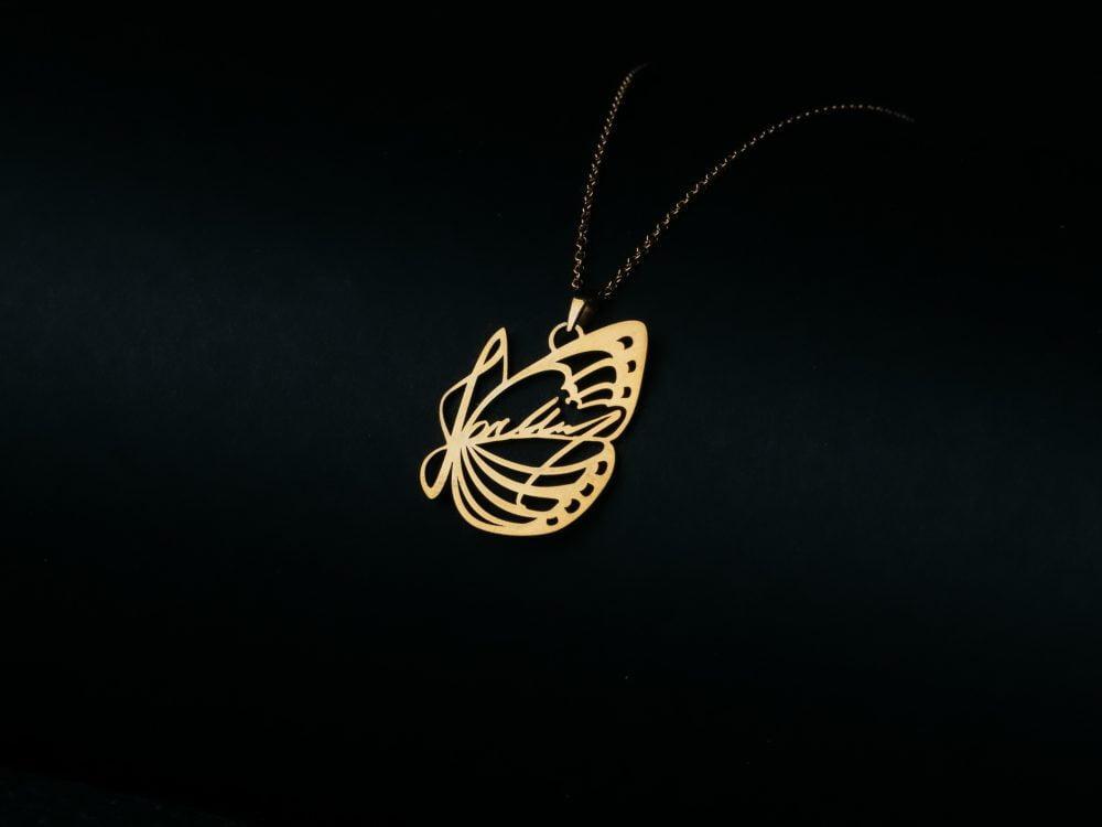 J01 necklace gold